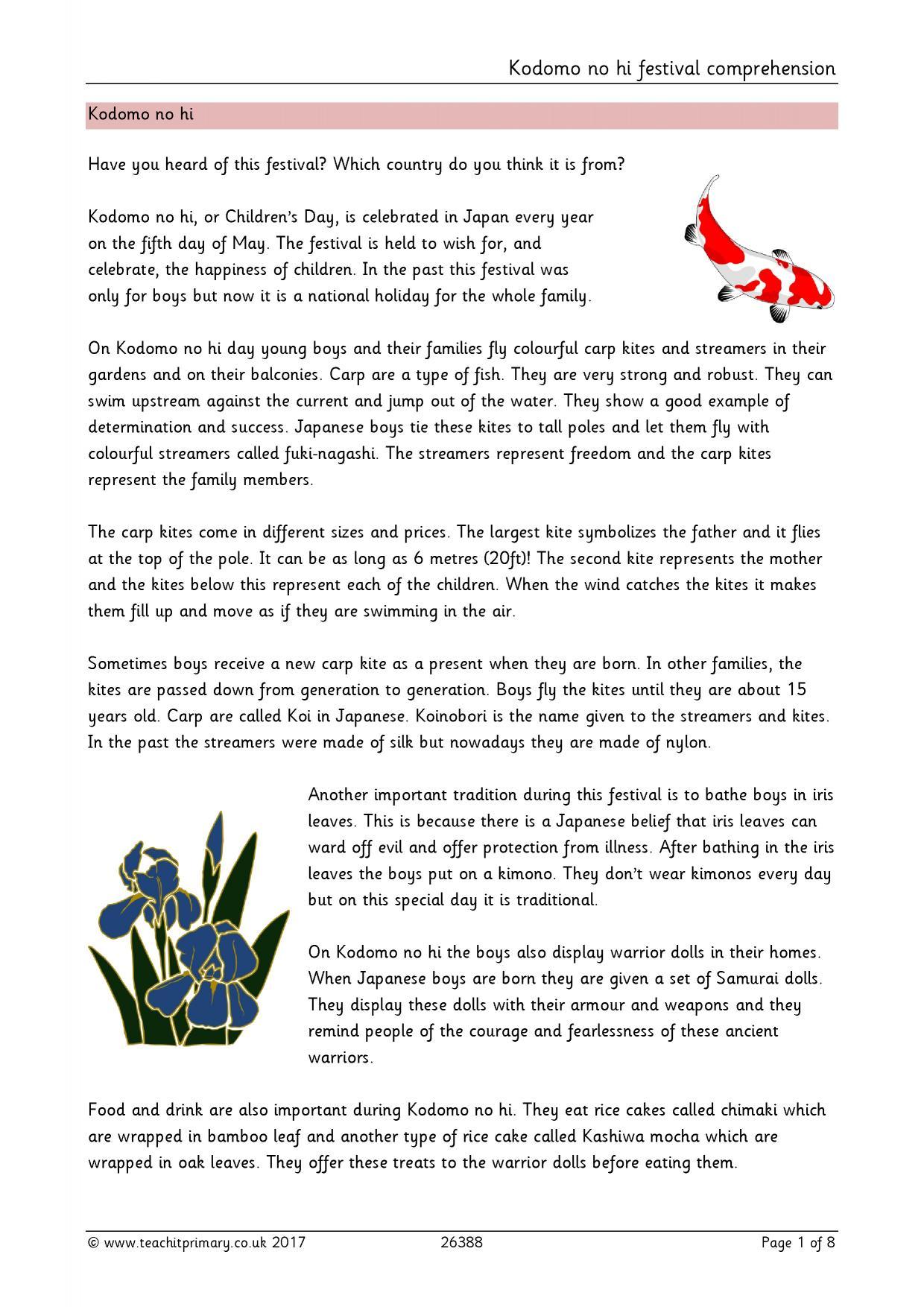 Reading Prehension Worksheet 2nd Grade