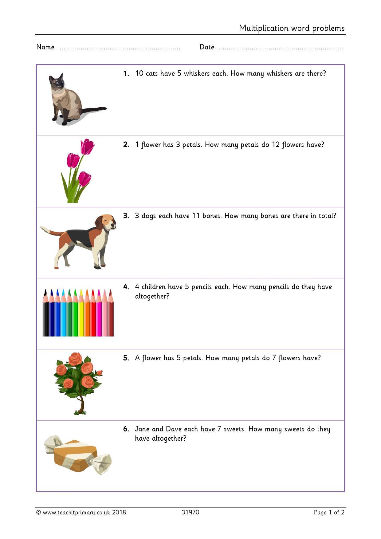 31 Multiplication Table Worksheet Games Printable