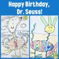 Dr. Seuss-inspired creature by Kindergartener