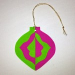 Notan Ornament back