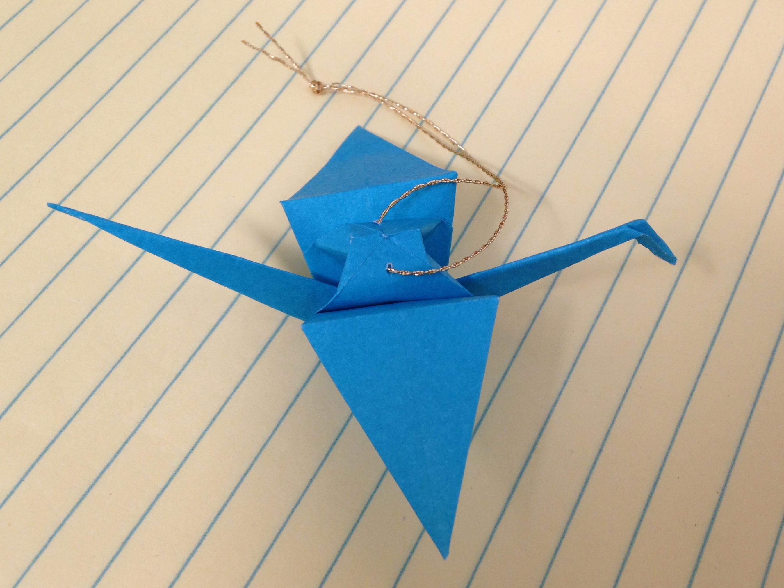 Origami Crane (Román Díaz) - YouTube | 2021x2696