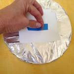 Make a handle with tape