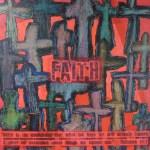 """Faith"" auction project collageon Canvas"