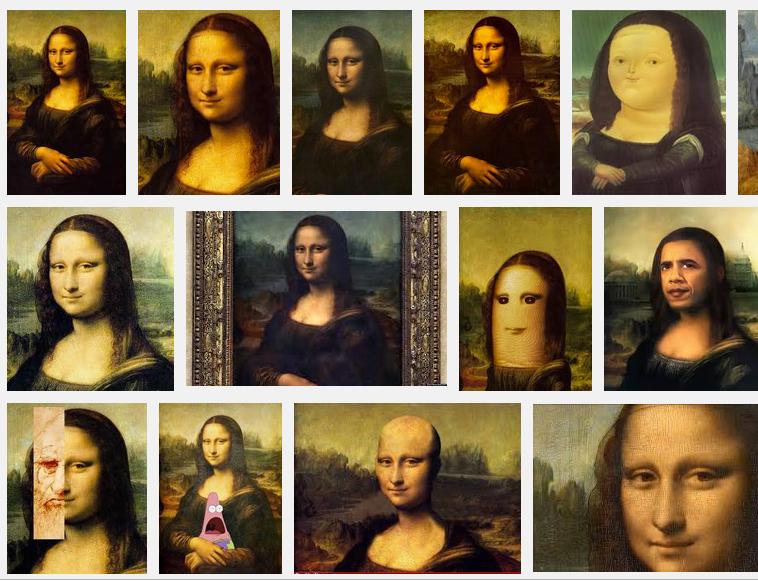Mona Lisa Montage