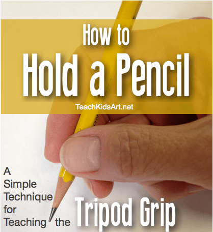 How to Hold a Pencil - a Simple Technique for Teaching the Tripod Grip