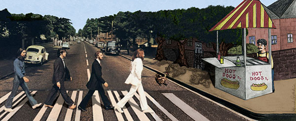 """""""Why Did the Beatles Cross the Road?"""" by Hannah Rothstein"""