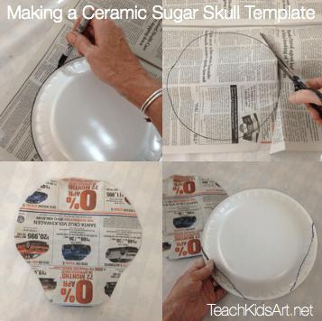 Making a Ceramic Sugar Skull Template