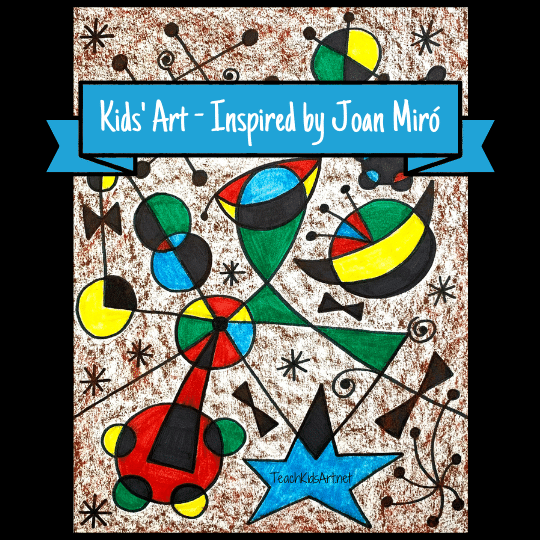 A Kids' Art Lesson Inspired by Joan Miró