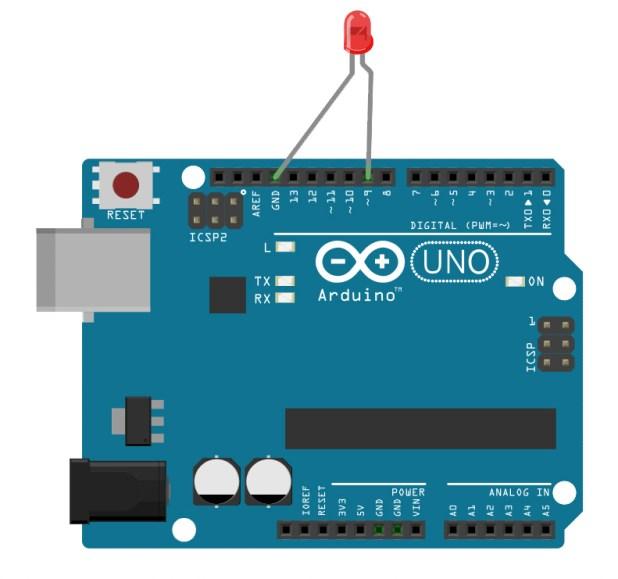 Arduino LED fade