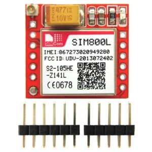 Arduino sim800L breakout board