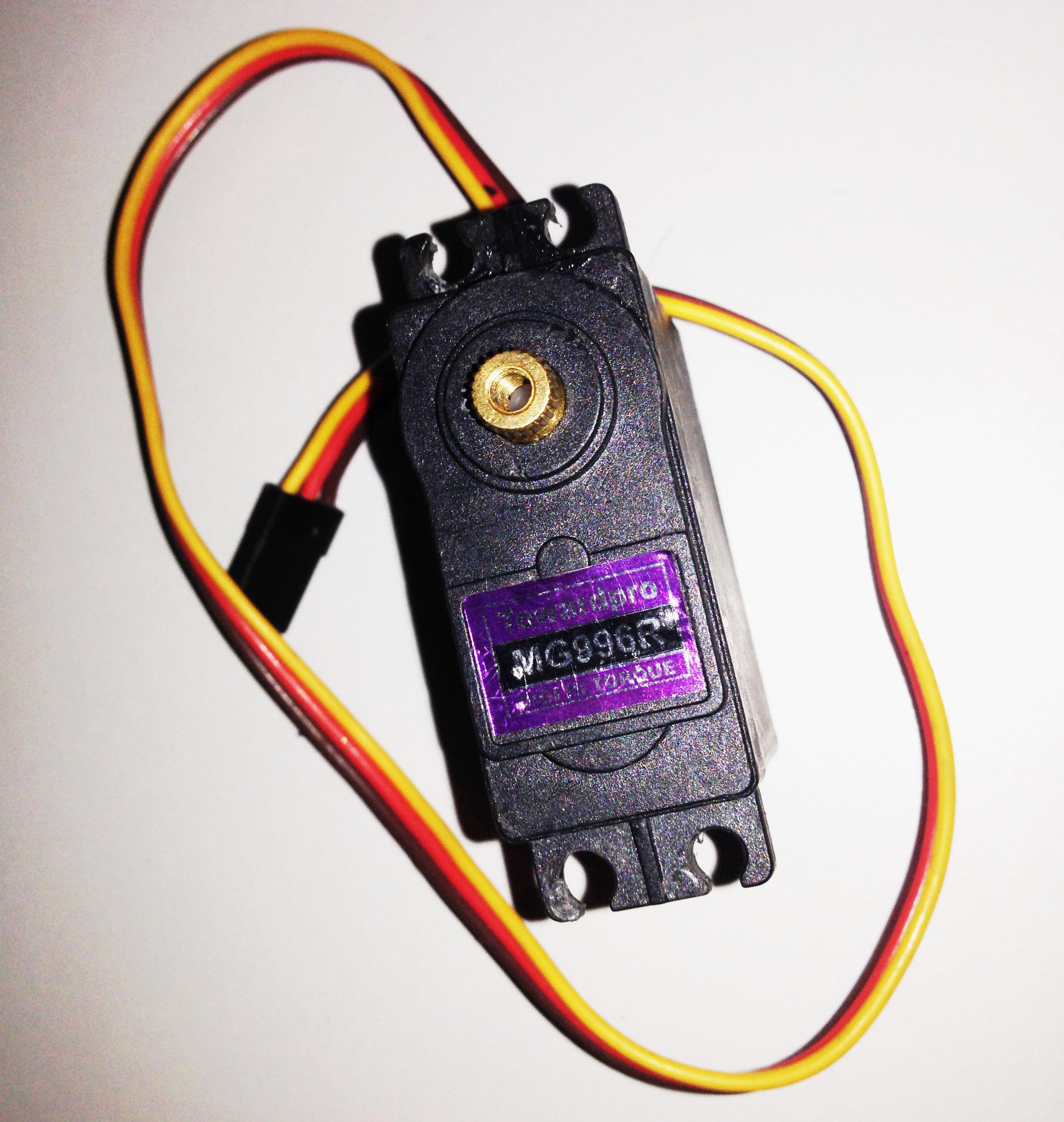 Mg996r Servo Wiring Diagram Schematic Connecting A Motor To An Arduino Plug