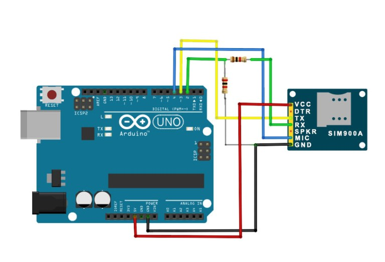 Using the SIM900A GSM Module with the Arduino