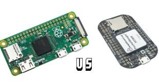 Raspberry Pi Zero vs. PocketBeagle