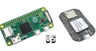 Raspberry Pi Zero vs. PocketBeagle