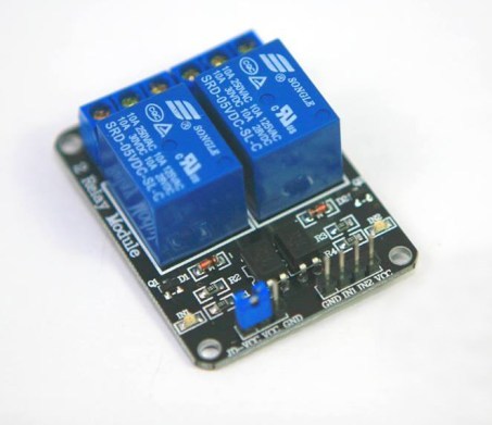 Two Relay Arduino Relay module