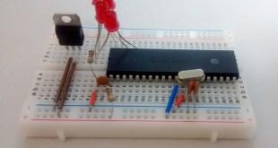 PIC16F877A Stepper Motor Controller