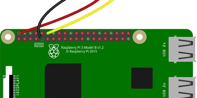 Raspberry Pi PWM Servo Motor example