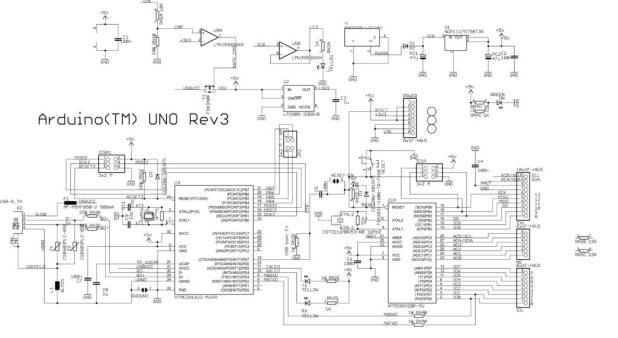 Arduino UNO Rev3 Schematic