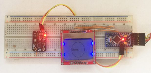 Arduino Compass with HMC5883L Magnetometer