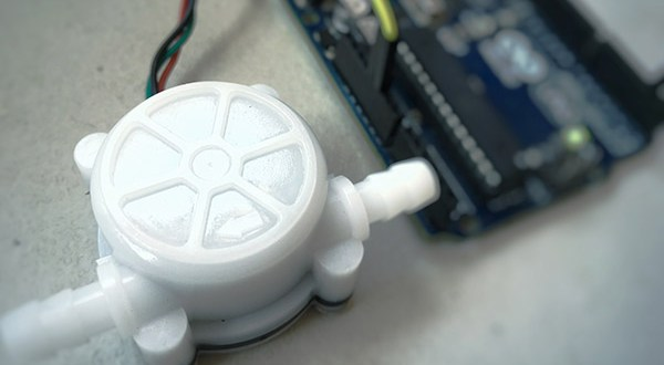 Arduino Water Flow meter