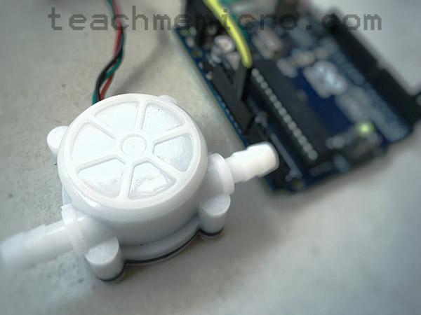 Arduino Water Flow meter
