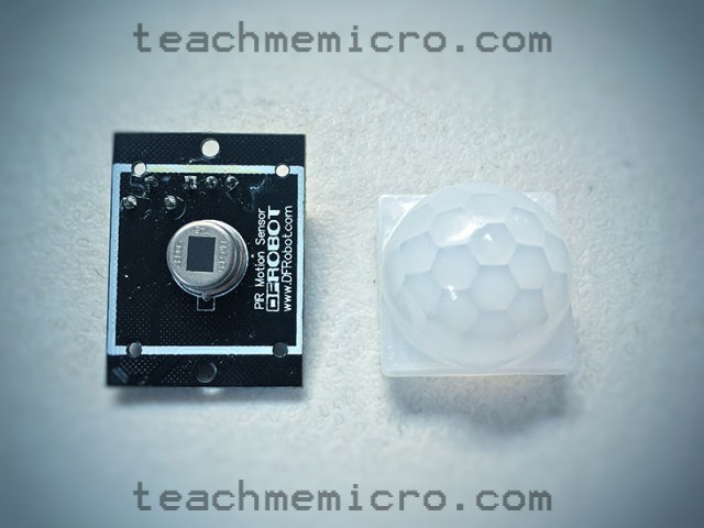 NodeMCU PIR Sensor without dome