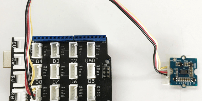 Grove gesture sensor