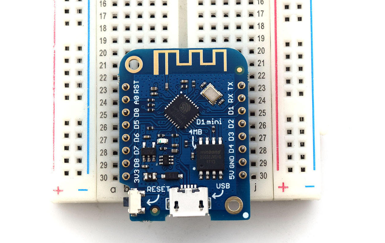 Getting Started With Wemos D1 Mini Microcontroller Tutorials