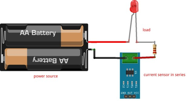 current sensor series connection