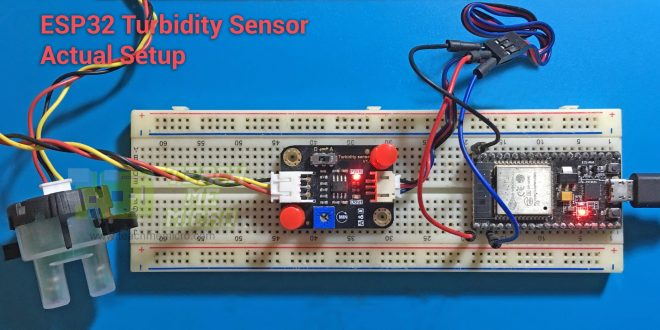 ESP32 Turbidity Sensor