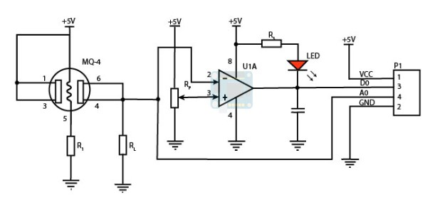 MQ-4 breakout circuit