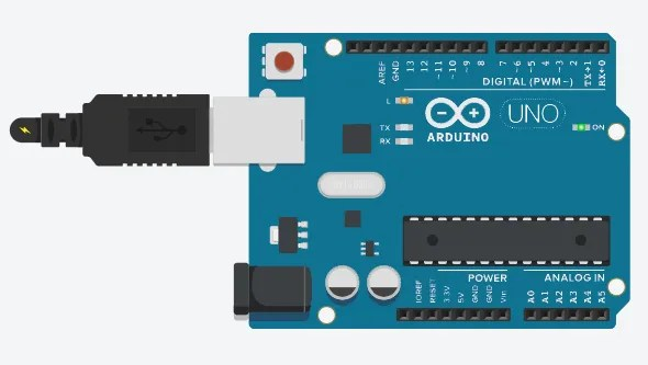 Arduino power from USB port