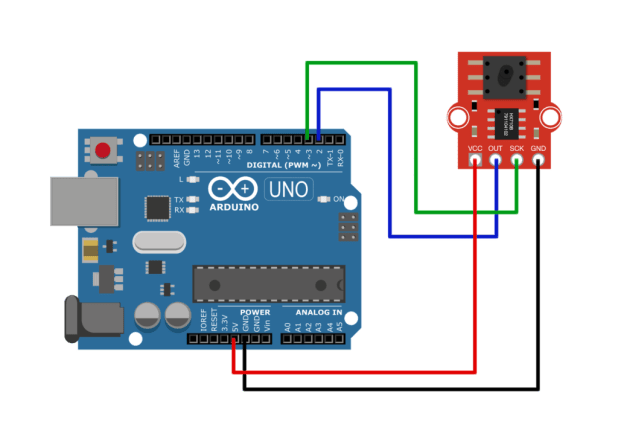 Arduino pressure sensor wiring