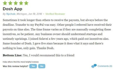 Dosh BBB Review