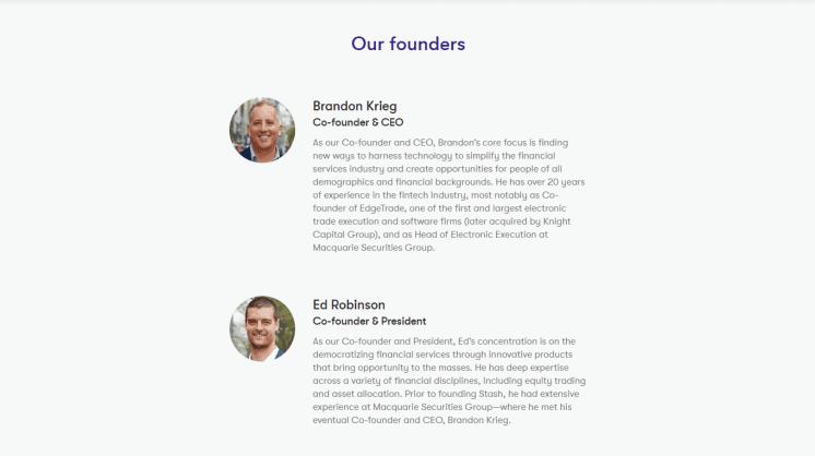 Stash Founders