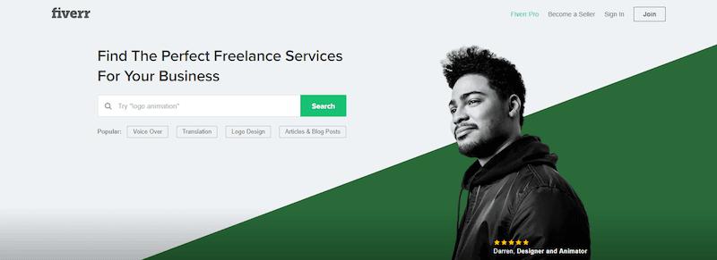 Fiverr Best Freelance Websites