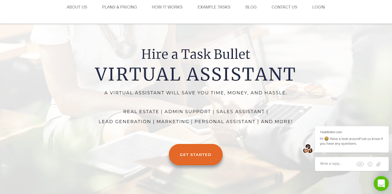 virtual assistant website