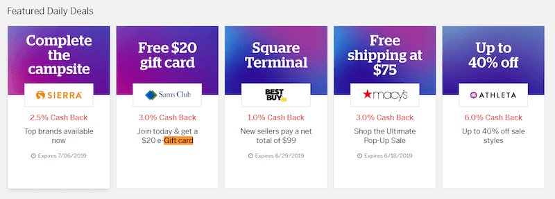 earn free gift cards with Ebates