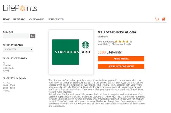 free starbucks gift cards