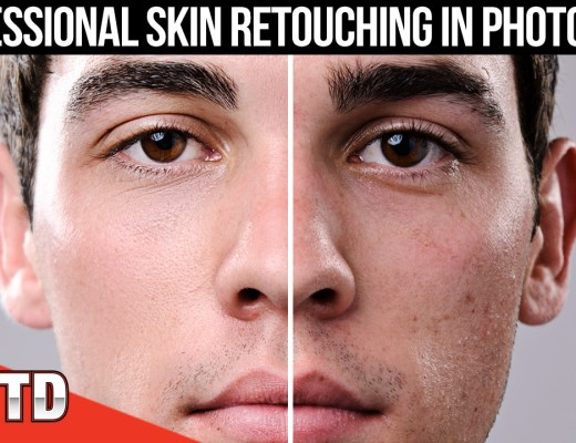 Professional Skin Retouching in Photoshop