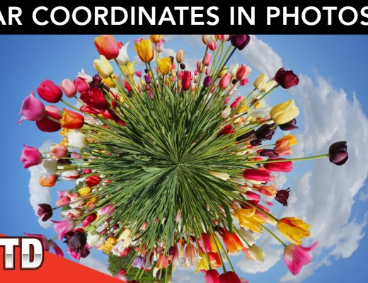 Learn how to use Polar Coordinates in Photoshop.