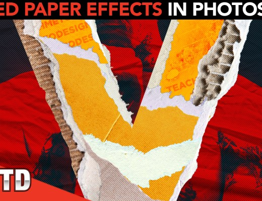 Ripped Paper Effects in Photoshop