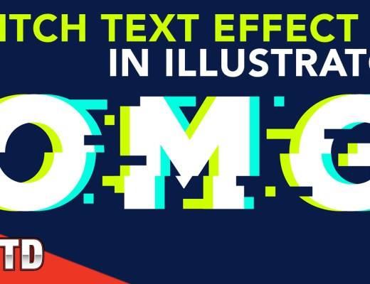 Glitch text effect tutorial