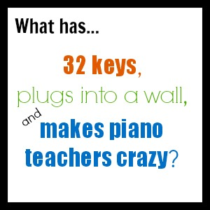 Choosing Piano Image