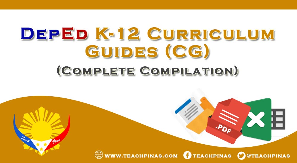 K-12 Curriculum Guides (CG for All Subjects)