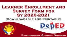 Learner Enrollment and Survey Form