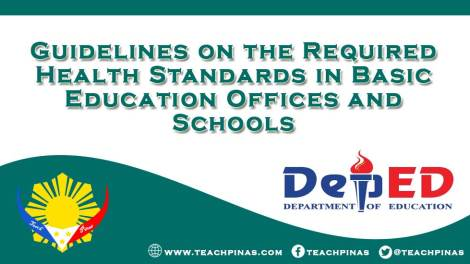 Guidelines on the Required Health Standards in Basic Education Offices and Schools