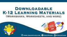 K-12 Learning Materials: Workbooks, Worksheets, and more
