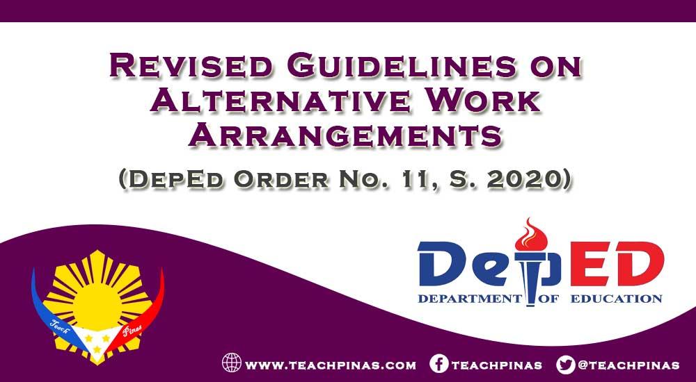 Revised Guidelines on Alternative Work Arrangements