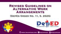 Revised Guidelines on Alternative Work Arrangements